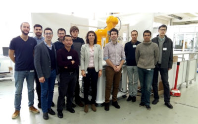 Training session about Stäubli robots