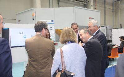 Technology Center IK4-IDEKO presents COROMA project to the Spanish Minister of Energy, Tourism and the Digital Agenda