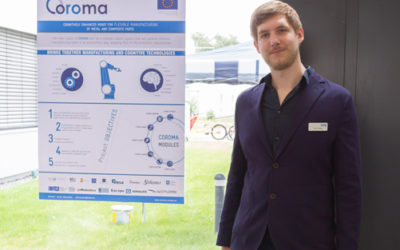 COROMA project present at the open day of the Robotics Innovation Center