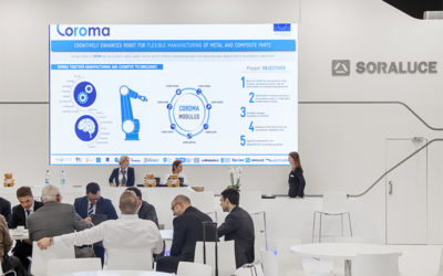 COROMA presented in the EMO 2017 by our partners in the stand of SORALUCE.