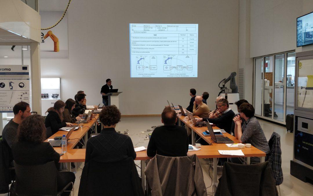 COROMA 30 month meeting at Staubli